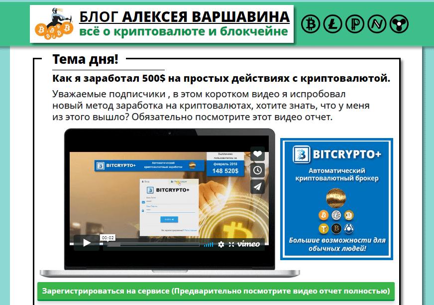 блог Алексея Варшавина