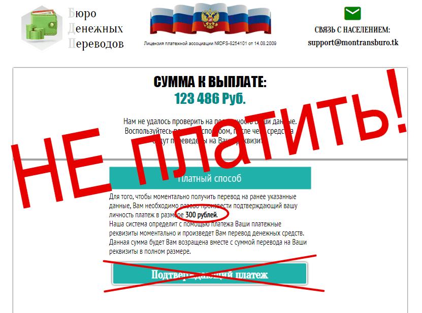 бюро денежных переводов отзывы