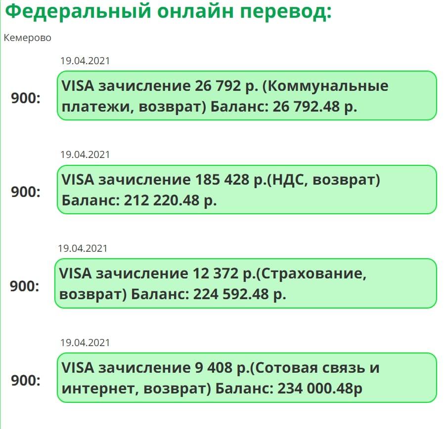 Федеральный онлайн перевод