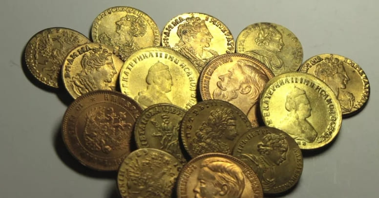 Заработок на царских монетах