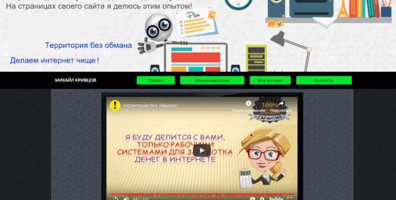 QR BasesManiya [Лохотрон] — отзывы о блоге Михаила Кривцова