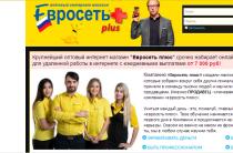 Евросеть Plus, Eвро Смарт — оптовый интернет магазин, автор Илья Адамский [Лохотрон]