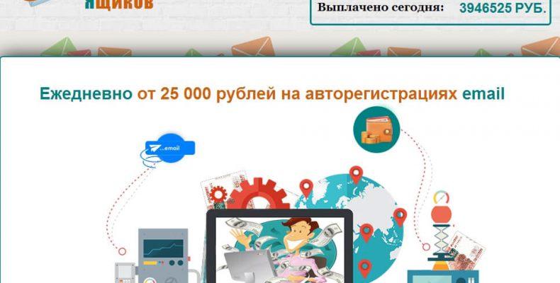 Сервис Mailregistration [Лохотрон] Авторегистратор электронных ящиков