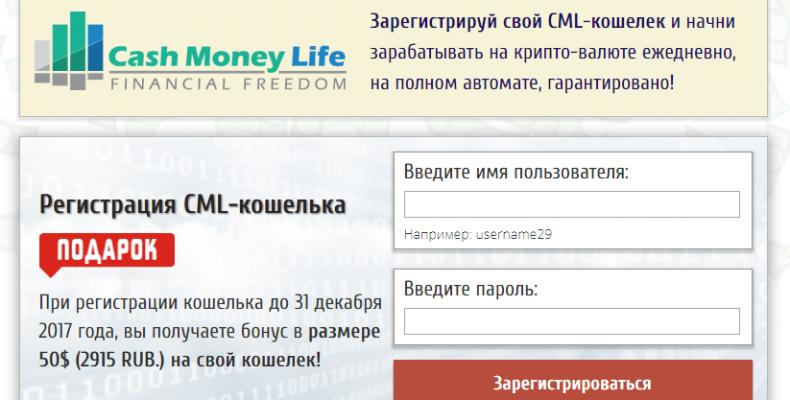 Cash Money Life [Развод] — работа в системе BitPay