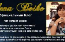 Gros Professional [Лохотрон] — способ заработка от Елены Бойко