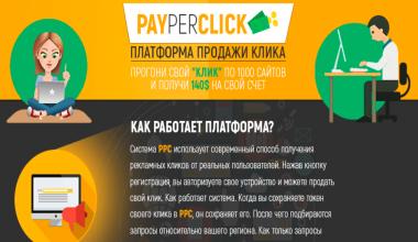 PayPerClick [Лохотрон] — отзывы о платформе продажи клика