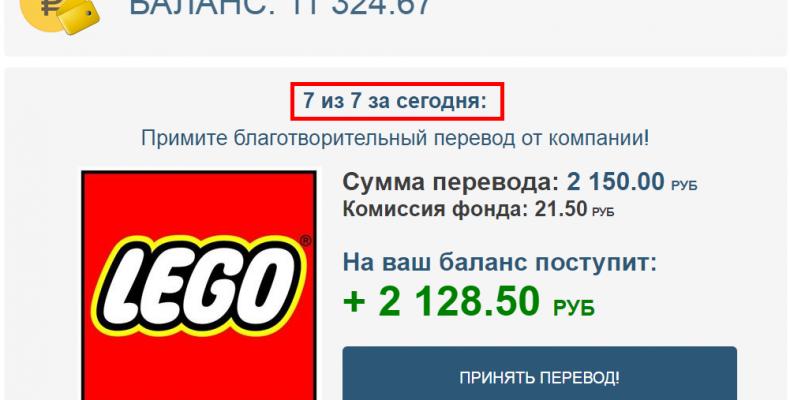 Pay Fondrf Ru [Лохотрон] — Разоблачение Fund United Corporation, Фонд помощи населению от объединенных корпораций