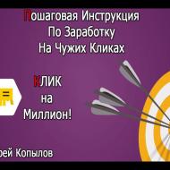 Курс «Клик на Миллион» [Проверено] — автор Андрей Копылов