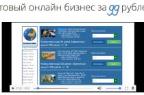 Realinvestmen — [Лохотрон] Готовый бизнес за 99 рублей